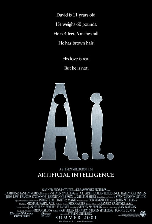 Artificial Intelligence: A.I. (2001, DreamWorks)