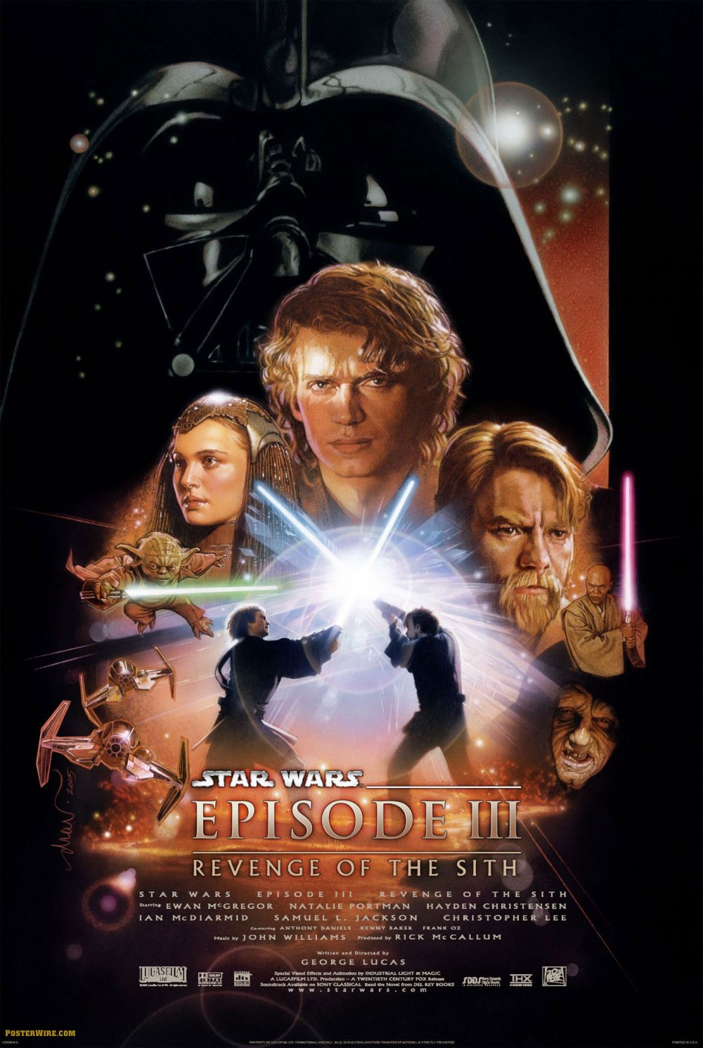 Star Wars: Episode III - Revenge of the Sith (2005, 20th Century Fox)