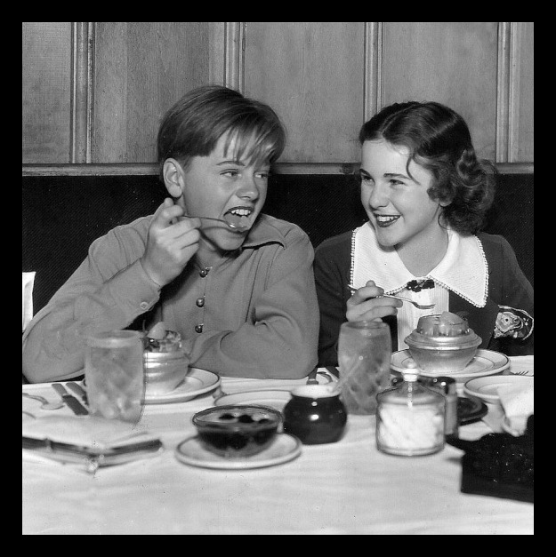 Mickey Rooney and Deanna Durbin