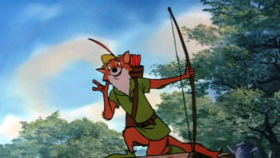 March To Disney Images Of Misery In Robin Hood The Movie Rat