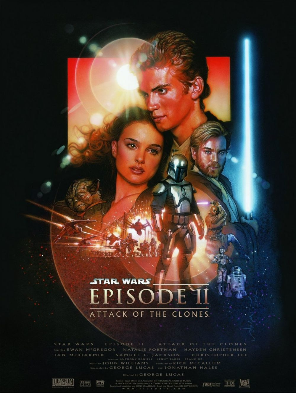Star Wars: Episode II - Attack of the Clones (2002, 20th Century Fox)
