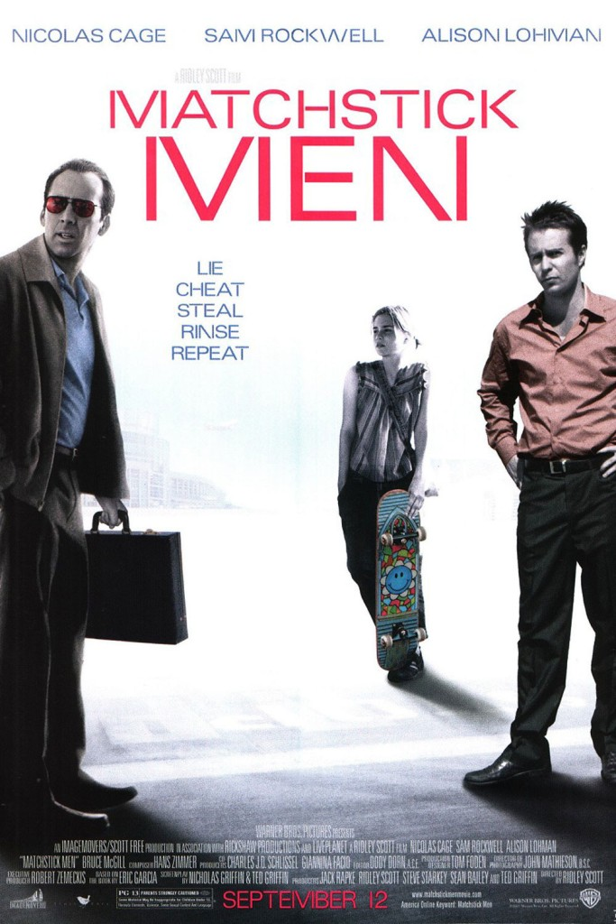 Matchstick Men (2003, Warner Bros.)