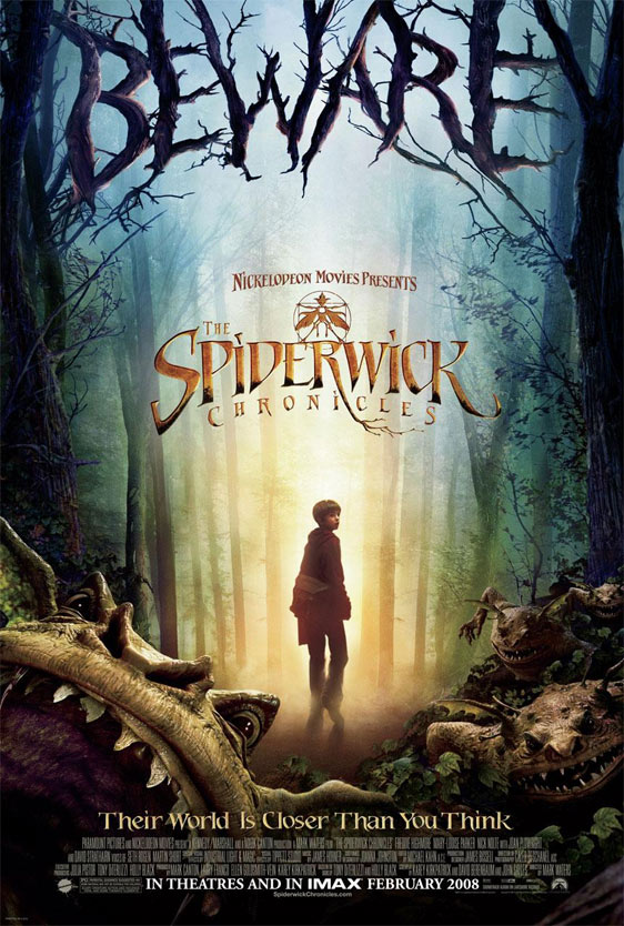 The Spiderwick Chronicles (2008, Nickelodeon/Paramount)
