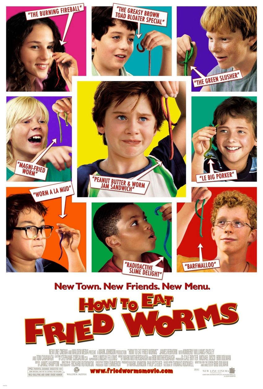 How to Eat Fried Worms (2006, New Line Cinema)