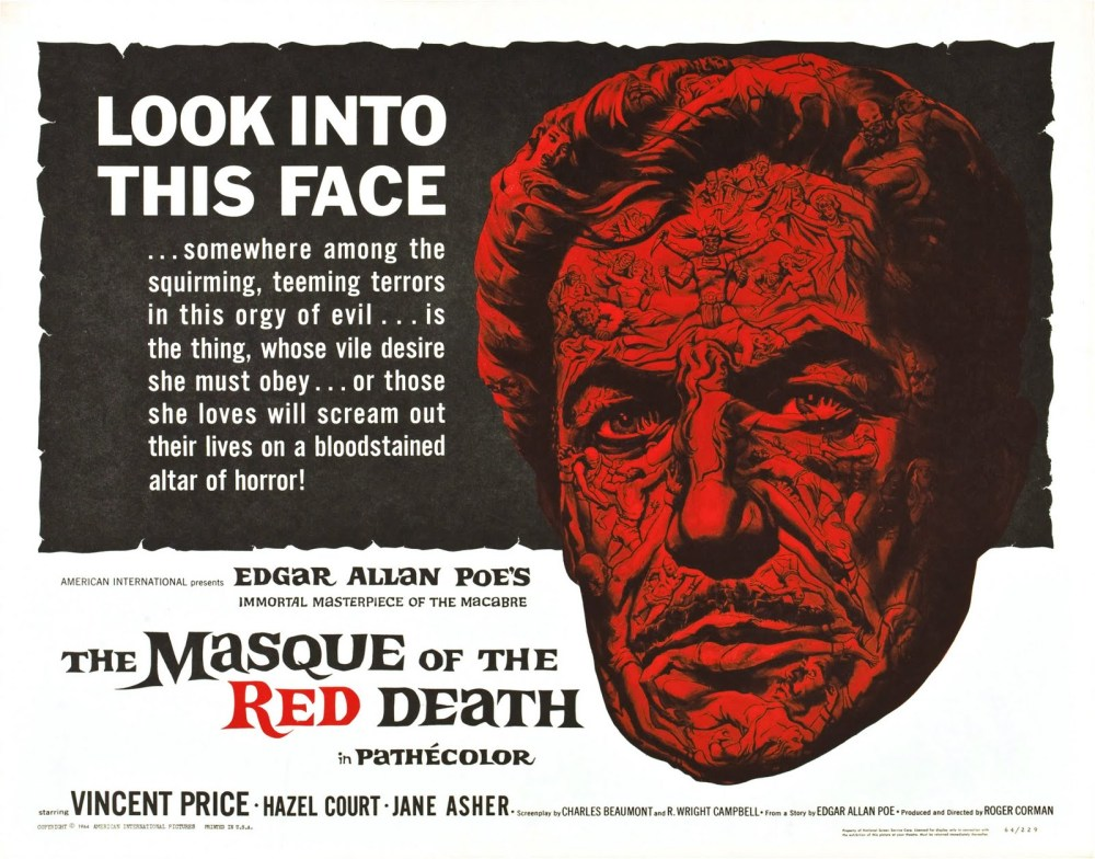 The Masque Red Death (1964, AIP)