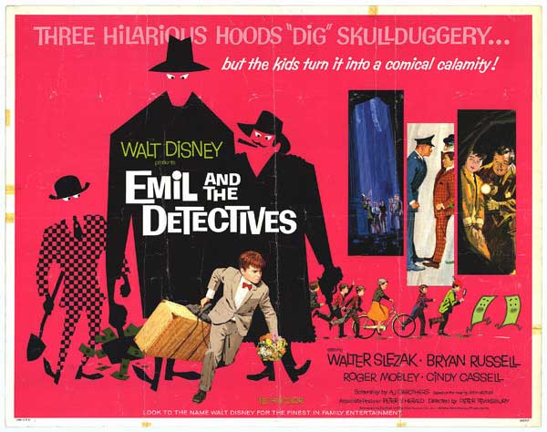 Emil and the Detectives (1964, Disney)