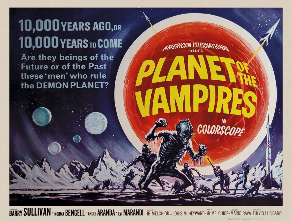 Planet of the Vampires (1965, MGM)