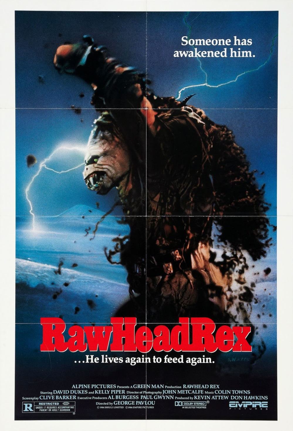 RawHeadRex (1986, Empire Pictures)