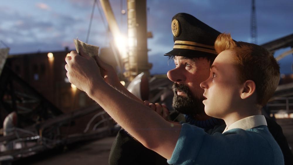 The Adventures of Tintin (2011, Columbia/Paramount)