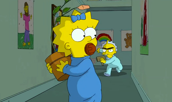 Maggie Simpson in The Longest Daycare (2012, Gracie Films)