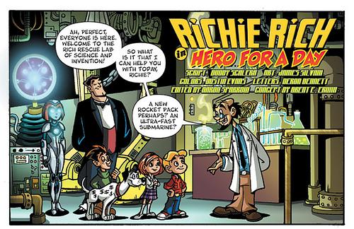 Richie Rich: Rich Rescue (Ape Entertainment)