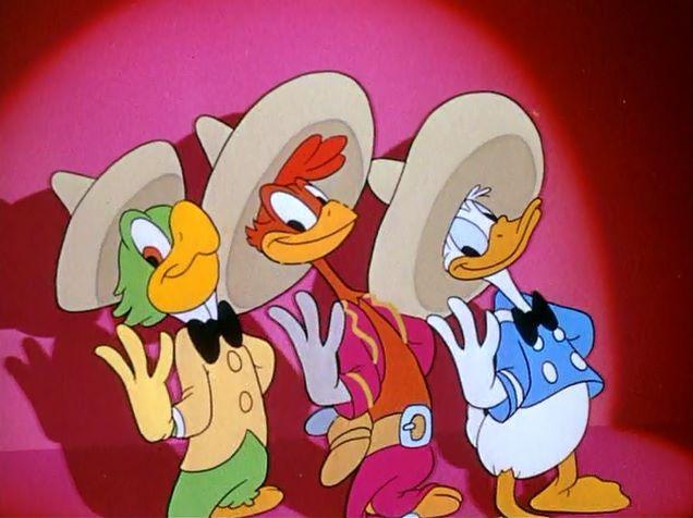 Three Caballeros (1943, Disney)