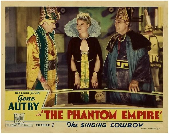 The Phantom Empire Short Film Saturday The Phantom Empire Chapters 79 The Movie Rat
