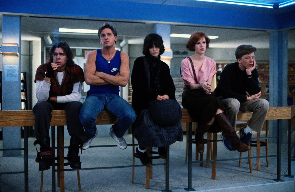 The Breakfast Club (1985, Universal)