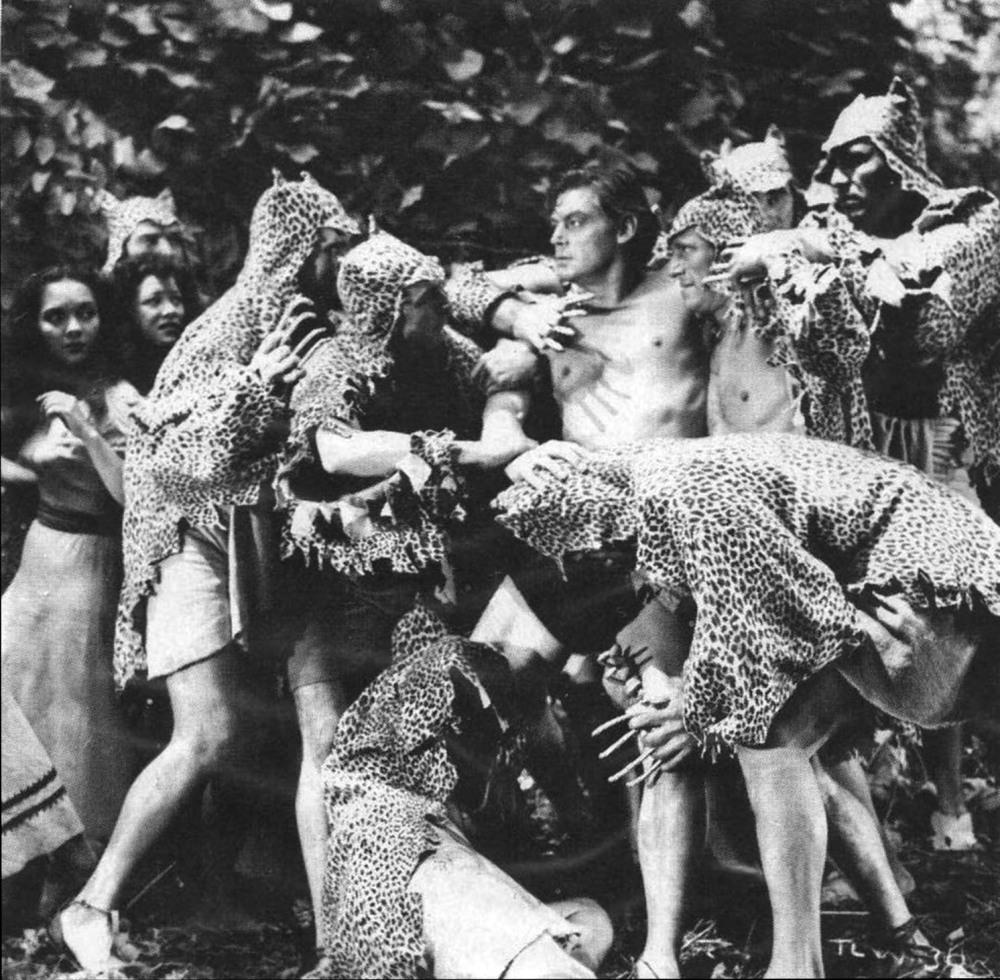Tarzan and the Leopard Woman (1946)