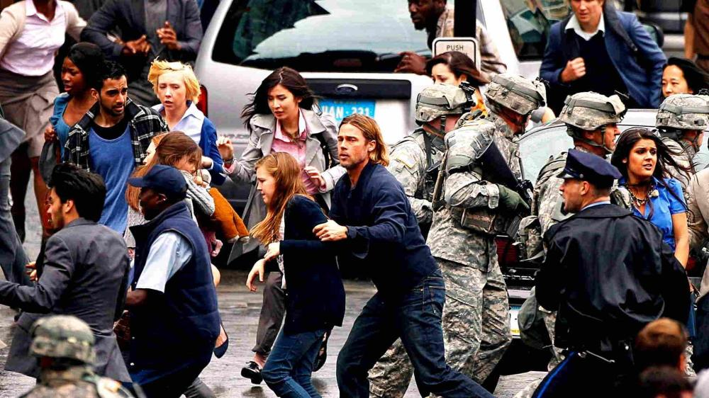 World War Z (2013, Paramount)