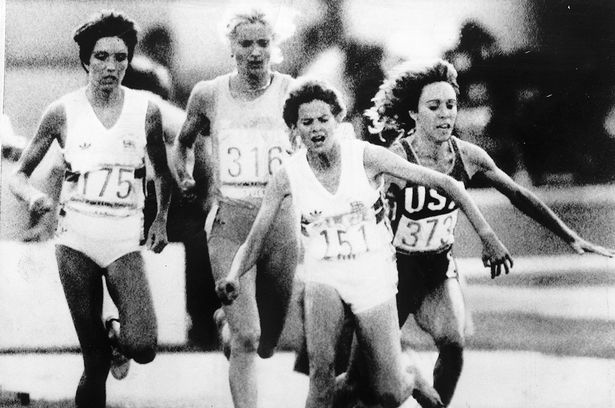 Zola Budd Mary Decker (The Mirror)