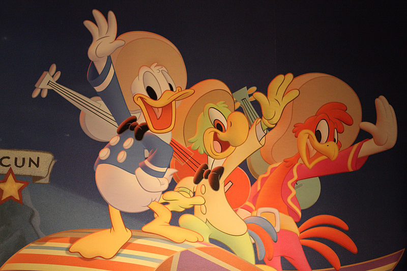 The Three Caballeros (1944, Disney)