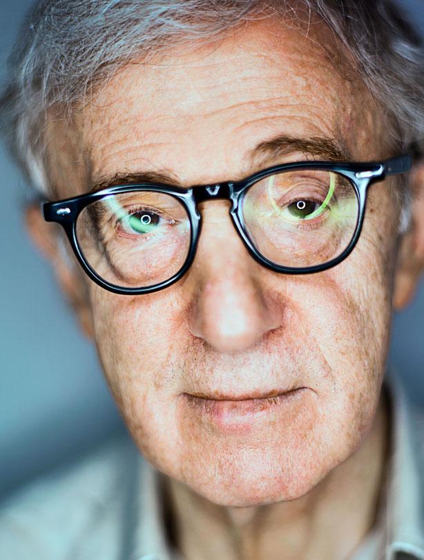 Woody Allen (2013, Esquire)