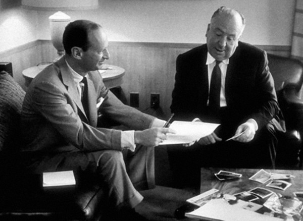 Hitchcock and Lehman working on a script (All Rights Reserved)