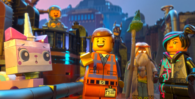The Lego Movie (2014, Warner Bros.)