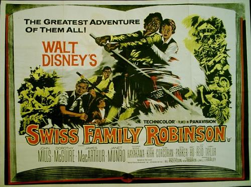 Swiss Family Robinson (1960, Disney)