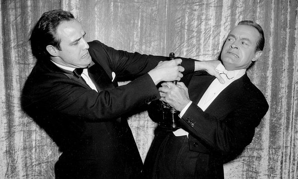 Bob Hope and Marlon Brando (A.M.P.A.S.)