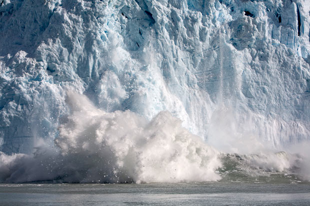 Calving Glacier (2015, Telegraph)