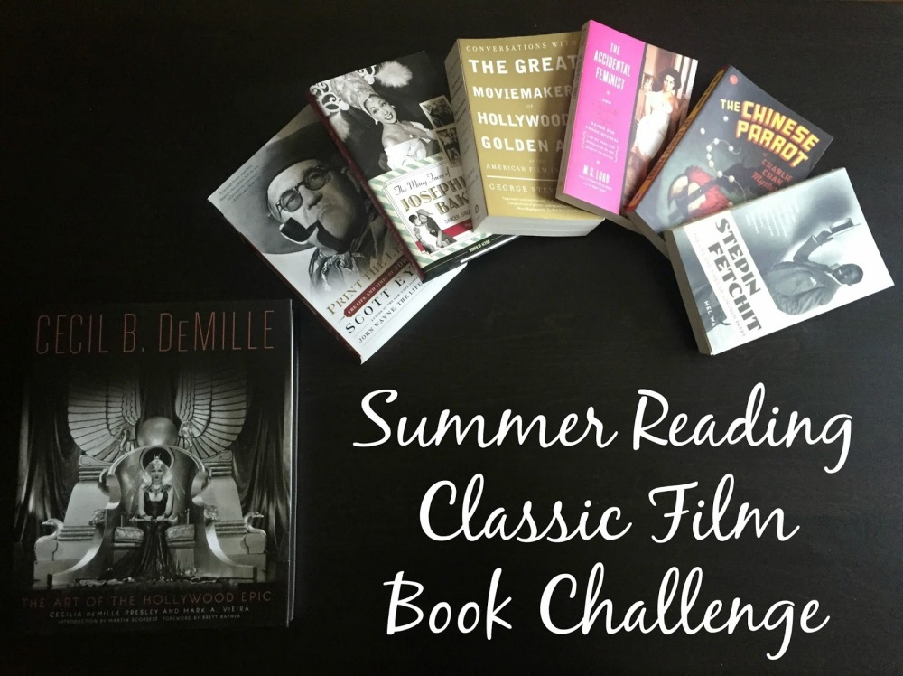 Summer Reading Classic Film Book Challenge (2015, Out of the Past)