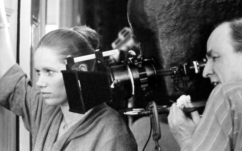 Liv Ullmann and Ingmar Bergman