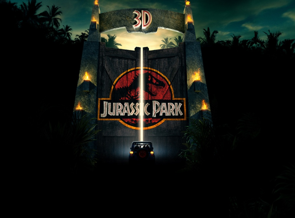 Jurassic Park 3D (2013, Universal)