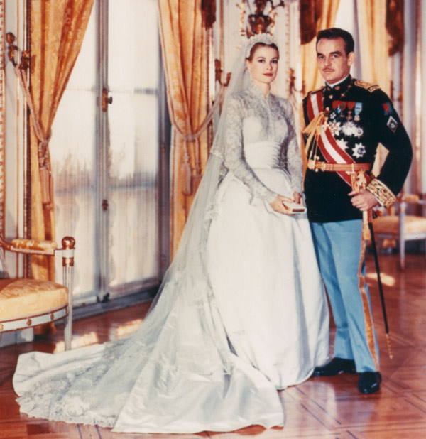 Grace Kelly wedding photo