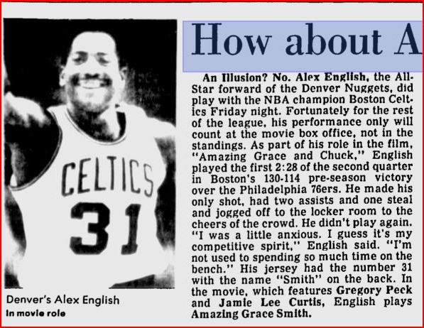 Alex English Celtics