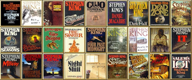 Image result for stephen king list of books