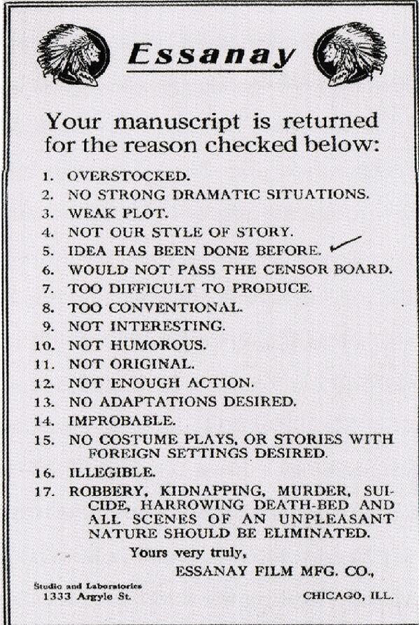 silent-film-rejections
