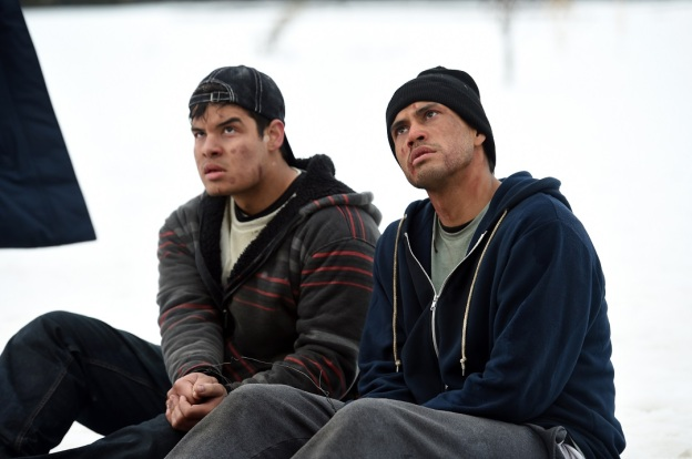 Tyler Laracca and Martin Sensmeier star in Wind River
